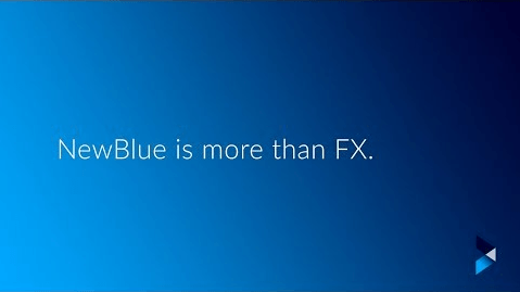 NewBlue is more than FX